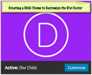 How to Edit the Footer in the Divi Theme