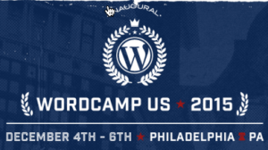 Screen grab of WordCamp 2015 Website - inaugural